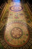 Πάτωμα κεραμιδιών κύκλων στοκ φωτογραφία