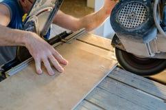 Πάτωμα κεραμιδιών στοκ εικόνα με δικαίωμα ελεύθερης χρήσης