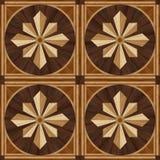 Πάτωμα παρκέ σχεδίου μενταγιόν, ξύλινη σύσταση Στοκ Εικόνα