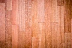 Πάτωμα που καλύπτεται με την ξύλινη σύσταση Στοκ Εικόνα
