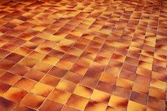 πάτωμα που κεραμώνεται Στοκ εικόνες με δικαίωμα ελεύθερης χρήσης