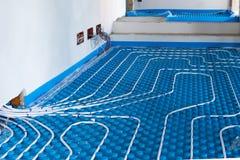 Πάτωμα συστημάτων ακτινοβόλο Στοκ Φωτογραφία