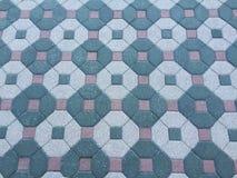 Πάτωμα τούβλου Στοκ εικόνες με δικαίωμα ελεύθερης χρήσης