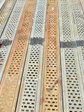 Πάτωμα υλικών σκαλωσιάς Στοκ Φωτογραφία