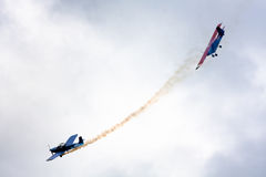 Πάλη αέρα Στοκ φωτογραφία με δικαίωμα ελεύθερης χρήσης
