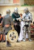 Πάλη ιπποτών Στοκ εικόνες με δικαίωμα ελεύθερης χρήσης