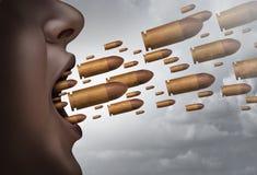 Πάλη με τις λέξεις ελεύθερη απεικόνιση δικαιώματος