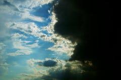 Πάλη σύννεφων στοκ φωτογραφία με δικαίωμα ελεύθερης χρήσης