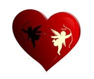 Πάλη Cupid Στοκ Εικόνα