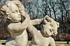 Πάλη Cupids Στοκ εικόνα με δικαίωμα ελεύθερης χρήσης