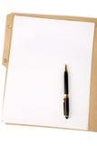 πέννα γραμματοθηκών αρχείω&n στοκ φωτογραφία