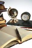 πέννα διοργανωτών βιβλίων Στοκ εικόνα με δικαίωμα ελεύθερης χρήσης