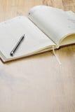 πέννα ημερολογίων Στοκ Εικόνες