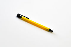 πέννα κίτρινη Στοκ εικόνα με δικαίωμα ελεύθερης χρήσης
