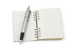 πέννα σημειωματάριων στοκ εικόνες με δικαίωμα ελεύθερης χρήσης