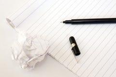 πέννα σημειώσεων ομάδων δε Στοκ εικόνα με δικαίωμα ελεύθερης χρήσης