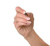 πέννα χεριών Στοκ Φωτογραφία