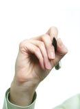 πέννα χεριών Στοκ Φωτογραφίες