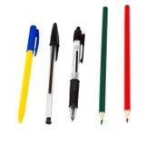 πέννες μολυβιών Στοκ Φωτογραφία