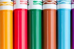 Πέννες χρωματισμού Στοκ εικόνα με δικαίωμα ελεύθερης χρήσης
