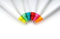 πέννες χρώματος Στοκ εικόνα με δικαίωμα ελεύθερης χρήσης