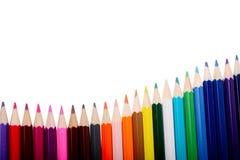 πέννες χρώματος Στοκ Φωτογραφίες