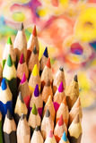 πέννες χρώματος Στοκ Εικόνα