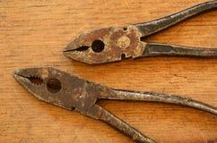 πένσες σκουριασμένες Στοκ φωτογραφία με δικαίωμα ελεύθερης χρήσης
