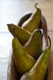 πέντε αχλάδια Στοκ εικόνα με δικαίωμα ελεύθερης χρήσης