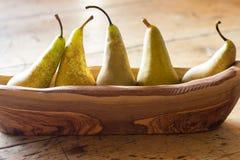 πέντε αχλάδια Στοκ Εικόνες