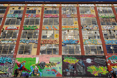πέντε γκράφιτι pointz Στοκ Φωτογραφίες