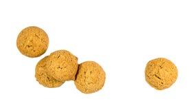 Πέντε διεσπαρμένα καρύδια πιπεροριζών που βλέπουν άνωθεν Στοκ φωτογραφία με δικαίωμα ελεύθερης χρήσης