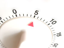 πέντε λεπτά που τίθενται τ&omic Στοκ εικόνα με δικαίωμα ελεύθερης χρήσης