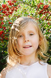 πέντε παλαιά έτη κοριτσιών Στοκ Εικόνες