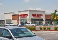 Πέντε τύποι storefront στοκ φωτογραφία με δικαίωμα ελεύθερης χρήσης