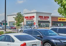 Πέντε τύποι storefront στοκ φωτογραφίες με δικαίωμα ελεύθερης χρήσης