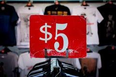 Πέντε dolar Στοκ φωτογραφίες με δικαίωμα ελεύθερης χρήσης