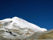 πέρασμα βουνών Λα thorong στοκ φωτογραφία με δικαίωμα ελεύθερης χρήσης