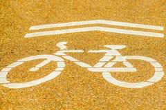 πέρασμα ποδηλάτων Στοκ Φωτογραφίες