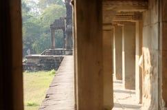 Πέρασμα σε Angkor Wat, Καμπότζη Στοκ φωτογραφίες με δικαίωμα ελεύθερης χρήσης