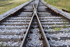 Πέρασμα σιδηροδρόμων στοκ εικόνες με δικαίωμα ελεύθερης χρήσης