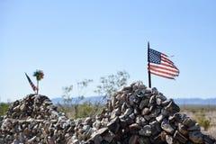Πέρασμα της Αμερικής, οι αμερικανικοί μύθοι στοκ εικόνες