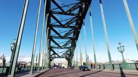 Πέρασμα της γέφυρας Τάιν απόθεμα βίντεο