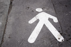 Πέρασμα του δρόμου Στοκ εικόνες με δικαίωμα ελεύθερης χρήσης