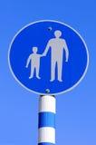 Πέρασμα του σημαδιού Στοκ φωτογραφίες με δικαίωμα ελεύθερης χρήσης