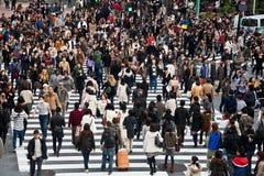 πέρασμα του shibuya στοκ εικόνες