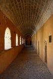 Πέρασμα δυτικών πυλών, μοναστήρι Arkadi Στοκ εικόνα με δικαίωμα ελεύθερης χρήσης