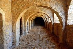 Πέρασμα δυτικών πυλών, μοναστήρι Arkadi Στοκ Φωτογραφίες