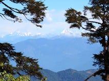 Πέρασμα Dochula, Μπουτάν στοκ φωτογραφίες