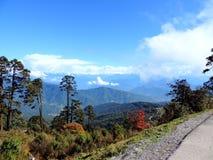 Πέρασμα Dochula, Μπουτάν στοκ φωτογραφία με δικαίωμα ελεύθερης χρήσης